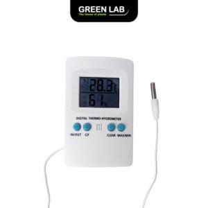 GreenLab מד טמפרטורה / לחות 2 נקודות