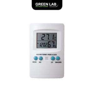 Green Lab מד טמפרטורה / לחות - היגרוטרמומטר
