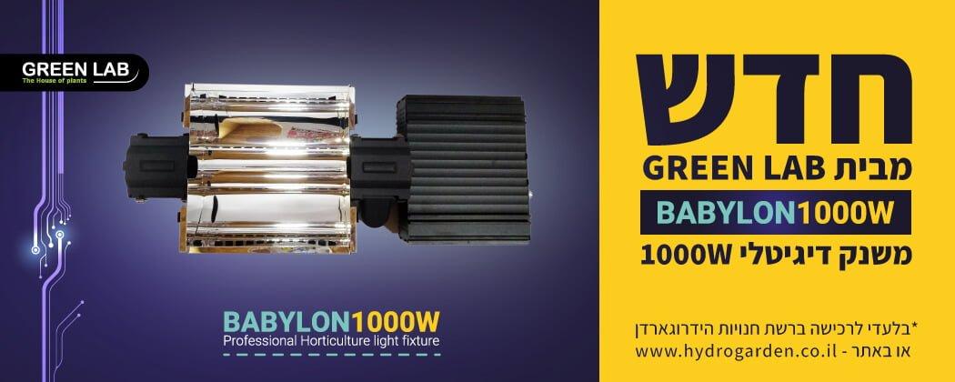 מערכת תאורה GLB Babylon 1000W