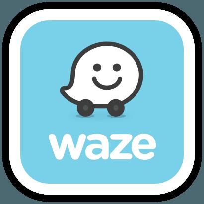 הוראות הגעה בWAZE